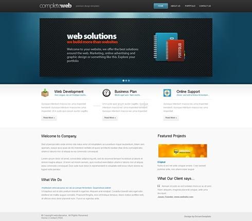 Template Image for BestWebDesign - Website Template