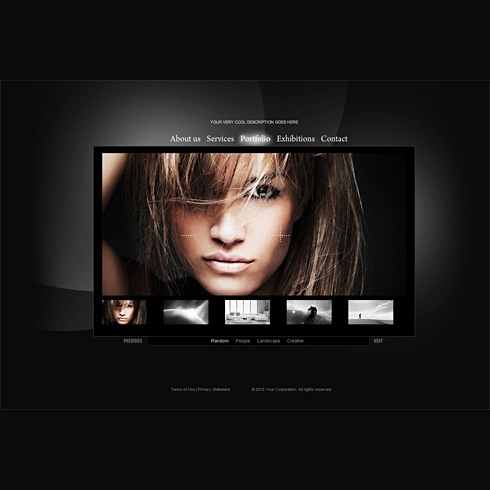 Template Image for ShowBizGallery - HTML Template