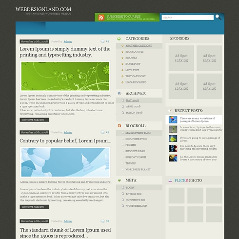 Template Image for ModernDesk - WordPress Theme