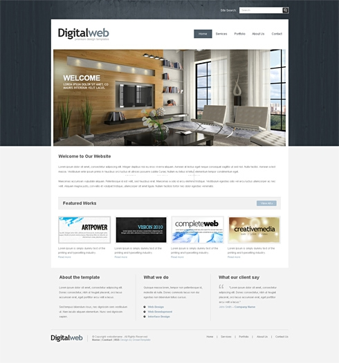 Template Image for Navywood-Cuber  - Website Template