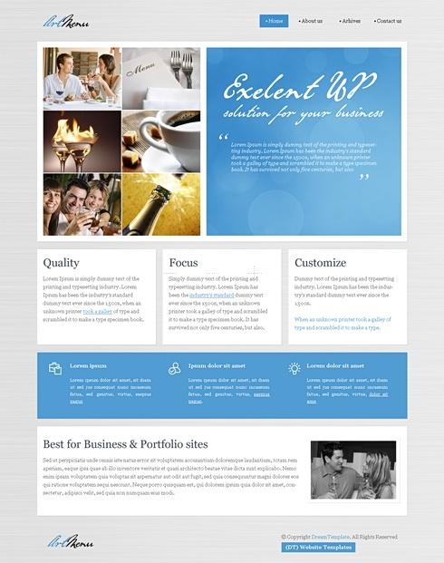 Template Image for ElegantPaper - WordPress Theme