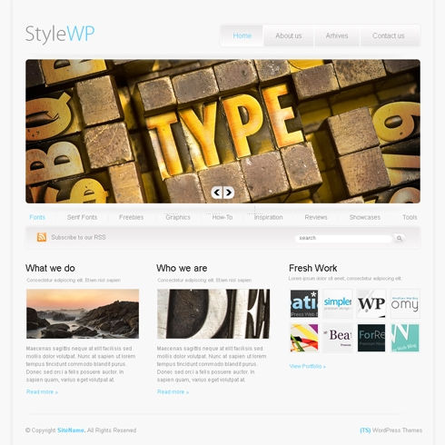 Template Image for StyleWp - WordPress Template