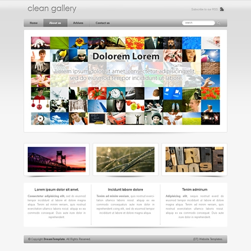 Template Image for iWeb - WordPress Template