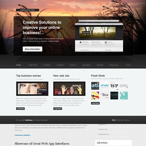 Template Image for IdeaTheme - WordPress Theme