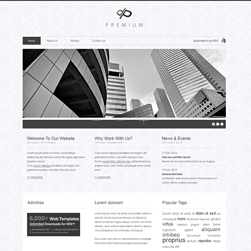 Template Image for Dppremium - WordPress Template