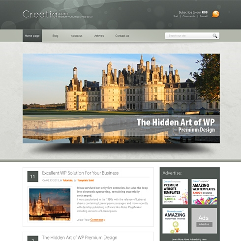 Template Image for CreatiaDots - WordPress Theme