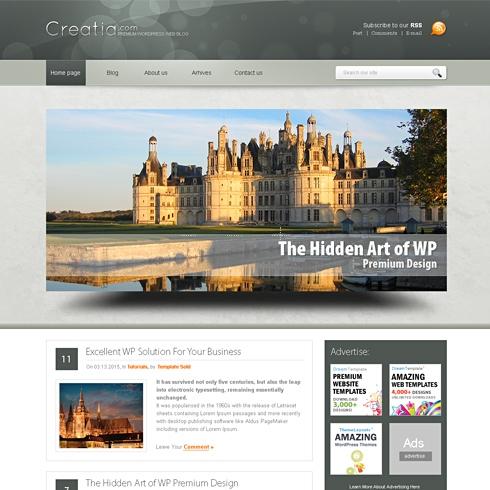 Template Image for CreatiaDots - WordPress Theme