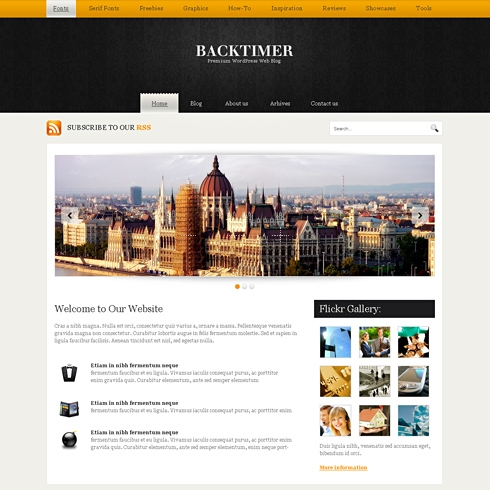 Template Image for BackTimer - WordPress Template