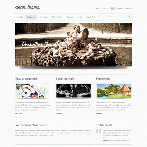 Template Image for SuperClean - WordPress Theme
