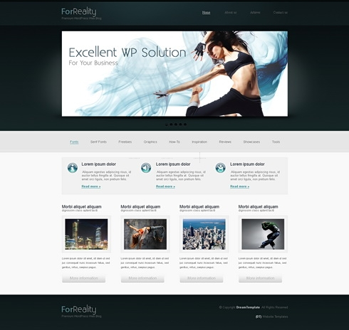 Template Image for Webagency - HTML Template