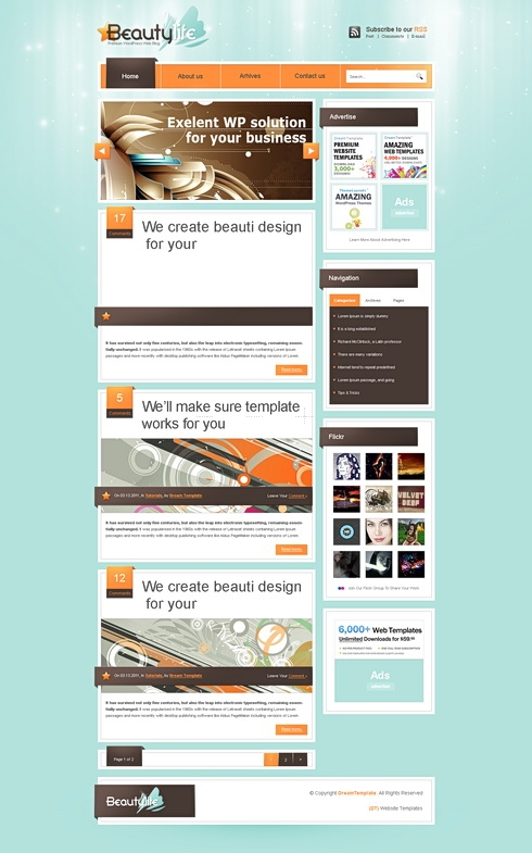 liferay templates free liferay css template blog style website templates