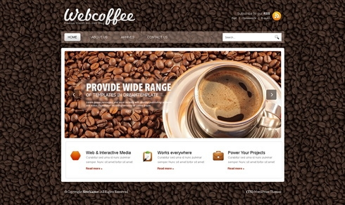 Template Image for CoffeeBlog - HTML Template