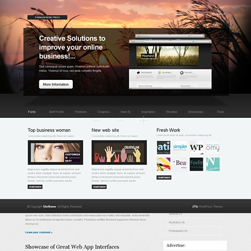 Template Image for IdeaTheme - HTML Template