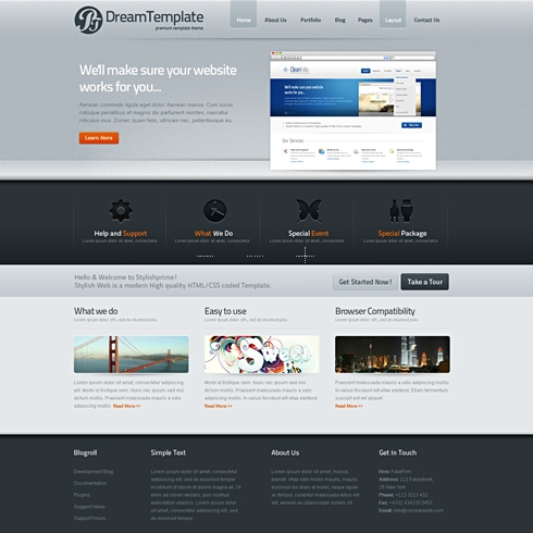 Template Image for MidTone - WordPress Template
