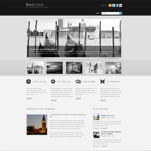 Template Image for Luxury - WordPress Template