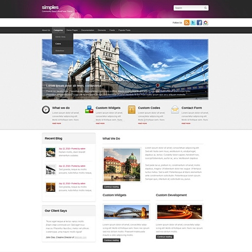 Template Image for Phasic - WordPress Template