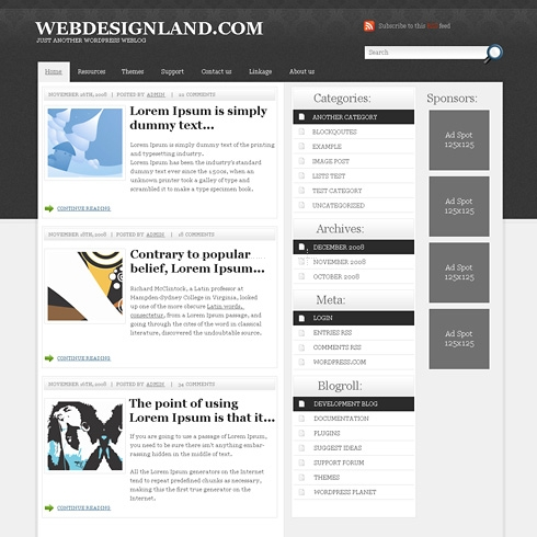 Template Image for BusinessClub - WordPress Theme