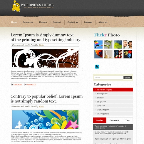 Template Image for GraniteOne - WordPress Theme