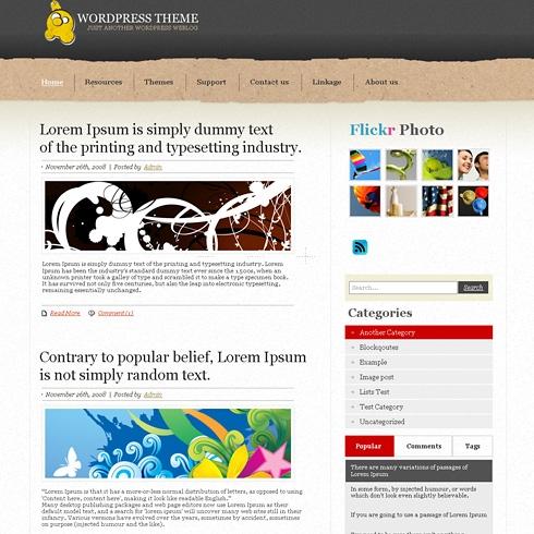 Template Image for GraniteOne - WordPress Theme