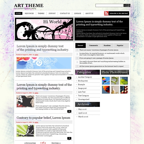 Template Image for ArtsPlat - WordPress Theme
