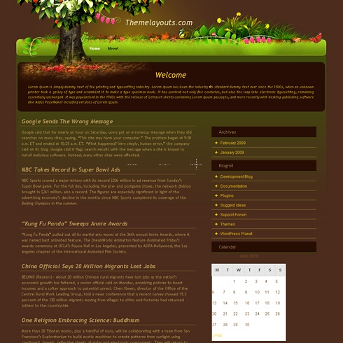 Template Image for MagicTree - WordPress Theme