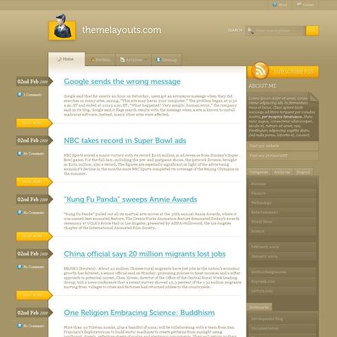 Template Image for Elegant - WordPress Theme