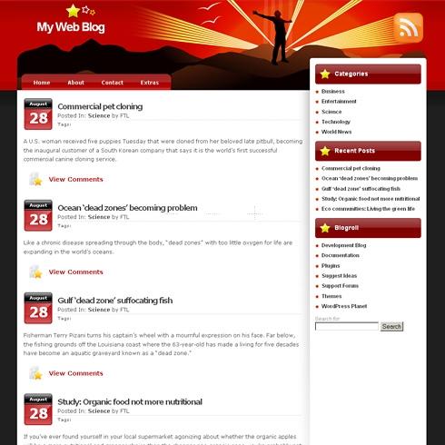 Template Image for StarsTruck - WordPress Theme