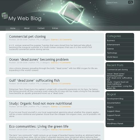 Template Image for StarLight - WordPress Theme