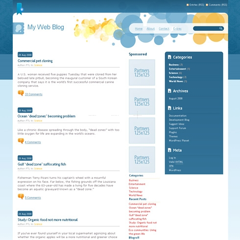 Template Image for SmartTouch - WordPress Theme