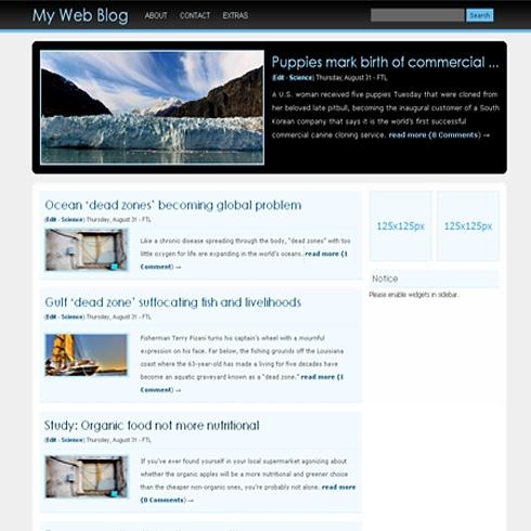 Template Image for RoundBox - WordPress Theme