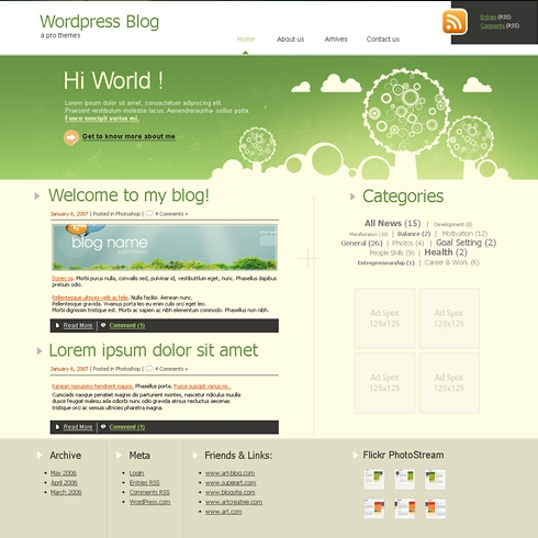 Template Image for TreeLand - WordPress Theme