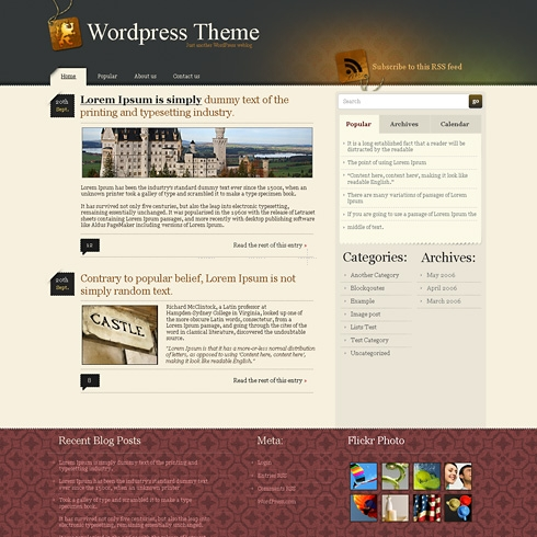 Template Image for RoyalPaper - WordPress Theme