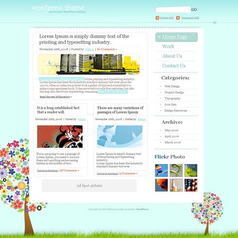 Template Image for RainbowPark - WordPress Theme