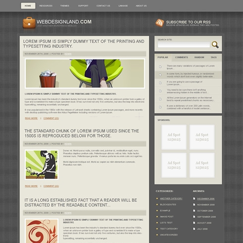 Template Image for GentsWay - WordPress Theme