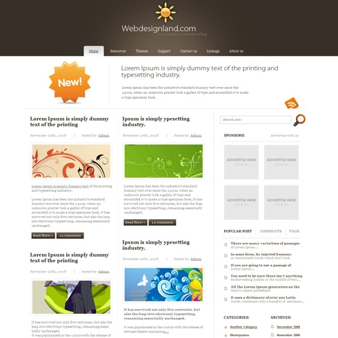 Template Image for Deluxxo - WordPress Theme