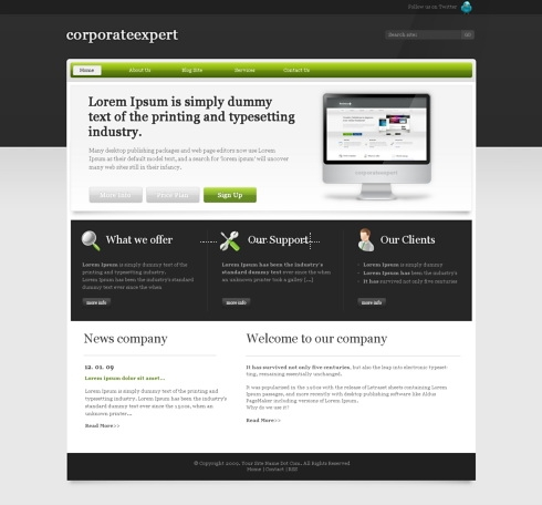 Template Image for EliteBusiness - Website Template