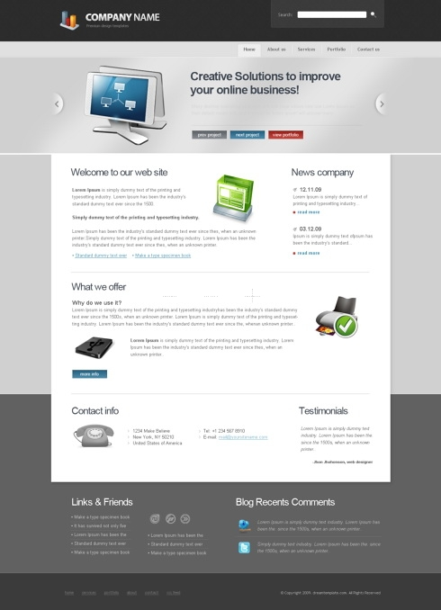 Template Image for CorporateStyle - HTML Template