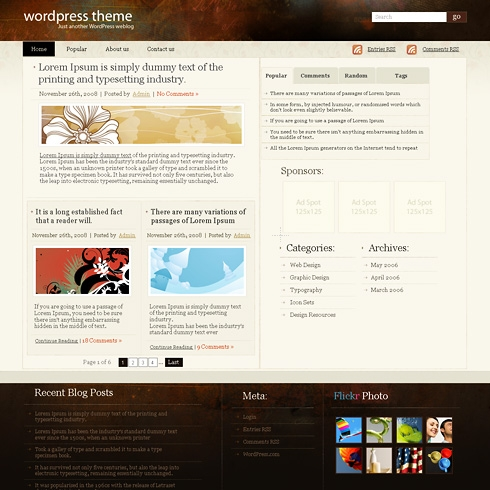 Template Image for CrypticWest - WordPress Theme