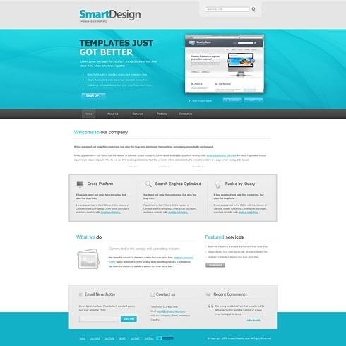Template Image for SmartDesign - Website Template