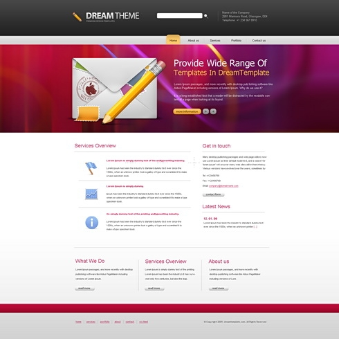 Template Image for DreamFusion - Website Template