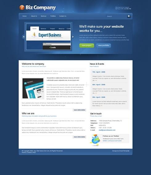 Template Image for Pandora - CSS Template