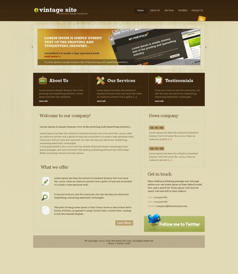 Creative Website Templates: Personal/Creative