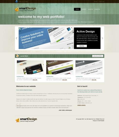 Template Image for SmartChalk -  Website Template