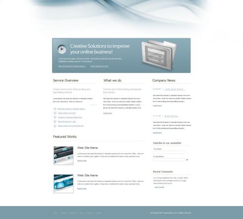 Template Image for DesignIdea - Website Template