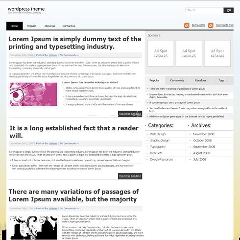 Template Image for NewsPaperline - WordPress Theme