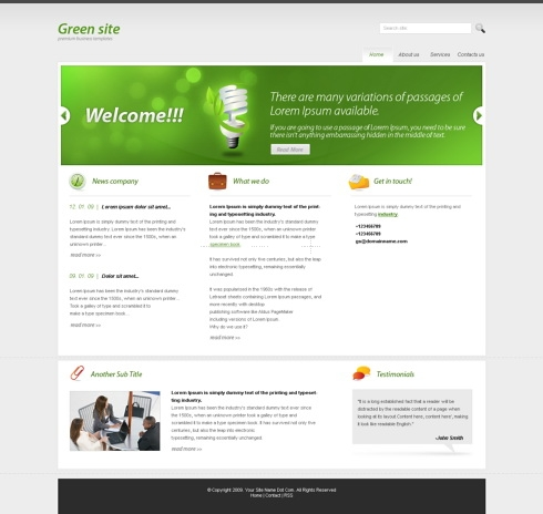 Template Image for ClearAmazon  - HTML Template