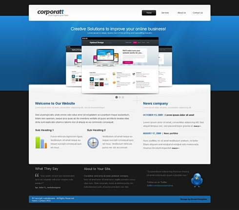Template Image for Carouselone - HTML Template