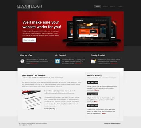 Template Image for ElegantDesign - Website Template