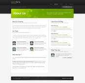 Template: LoremTheme - HTML Template