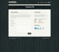Template: Myfolio - Website Template